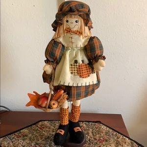Decorative Pilgrim Girl